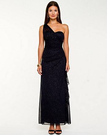 High-Twist One Shoulder Gown