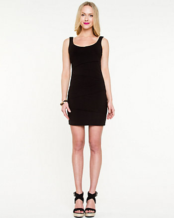 Tiered Jersey Knit Dress