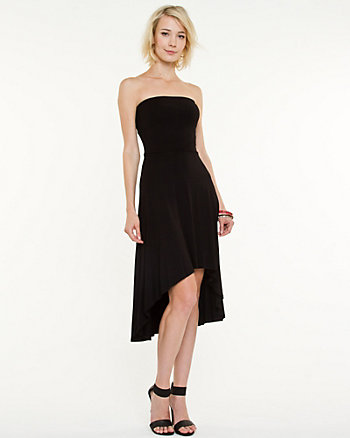 Jersey Knit Strapless Dress
