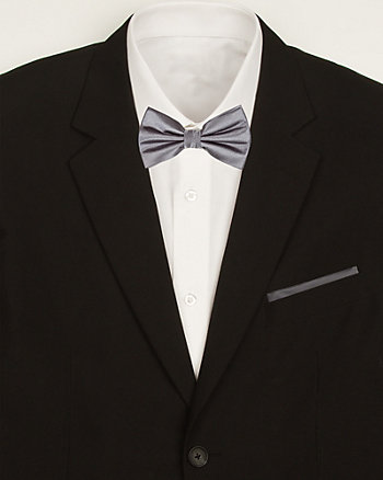 Satin Bow Tie & Pocket Square Set