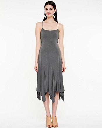 Jersey Knit Halter Dress