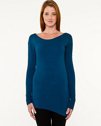 Knit Asymmetrical Sweater