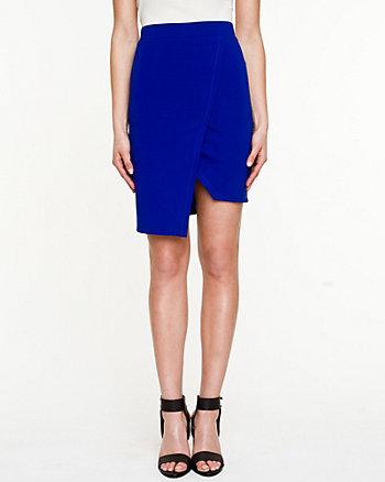 Ponte Wrap Skirt