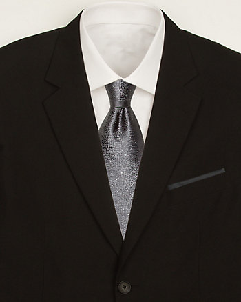 Dot Print Tie & Pocket Square Set