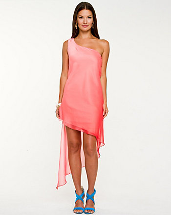 Ombré Asymmetrical Dress