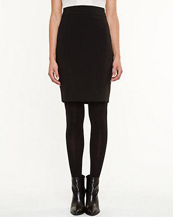 Tropical Wool Modern Fit Pencil Skirt