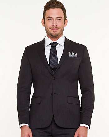 Piqué City Fit Blazer