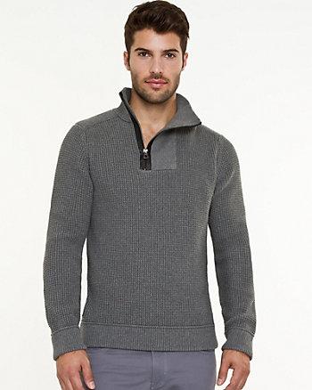 Knit Slim Fit Sweater