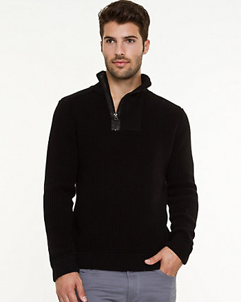 Knit Slim Fit Sweater