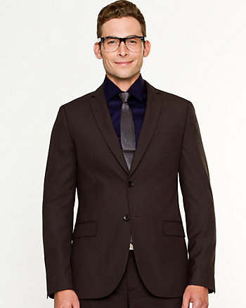 Wool Blend Contemporary Fit Blazer