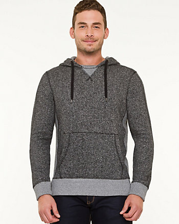 French Terry Colour Block Hoodie