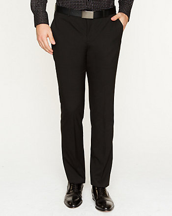 Viscose Blend Slim Fit Pant
