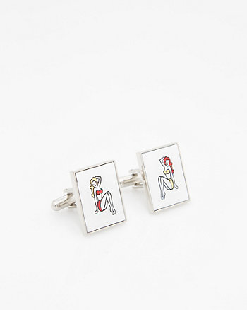 Pin-up Icon Cufflink