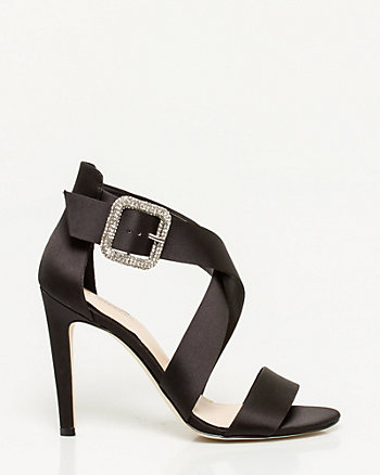 Satin Strappy Sandal