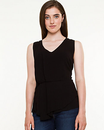 Challis Sleeveless Blouse