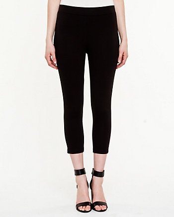 Ponte Crop Legging