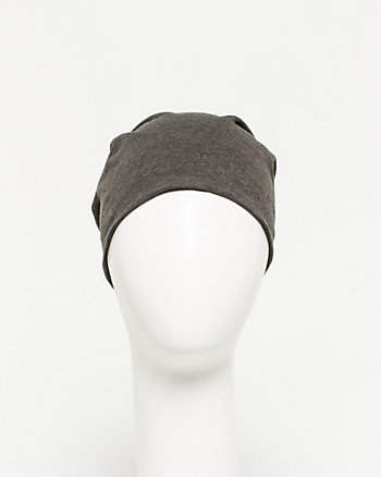 Cotton Blend Beanie Hat