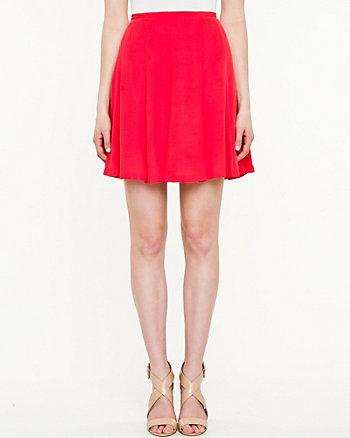 Crêpe Flare Skirt