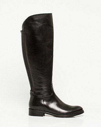 Italian-Made Leather Boot