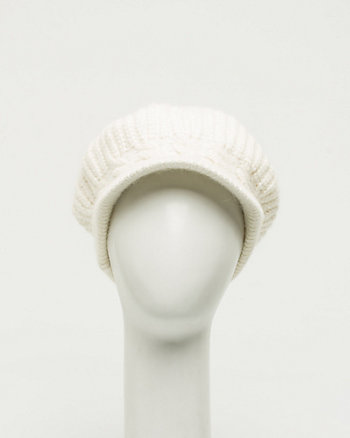 Cable Knit Poorboy Cap