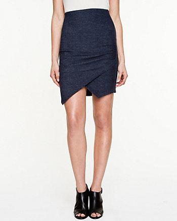 Knit Asymmetrical Skirt