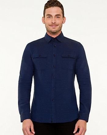 Herringbone Slim Fit Shirt