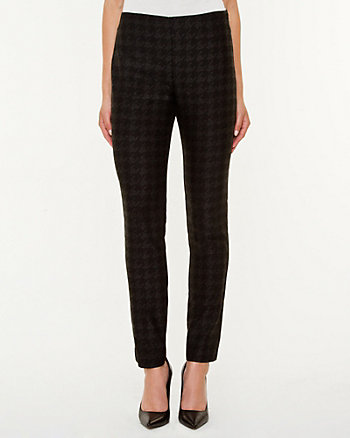 Houndstooth Slim Fit Pant
