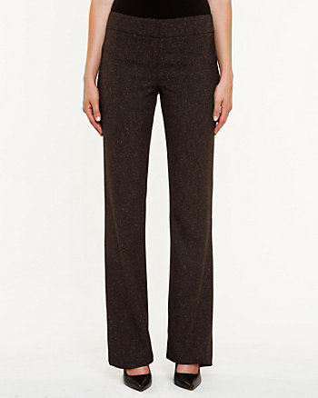 Viscose Blend Slightly Flared Pant