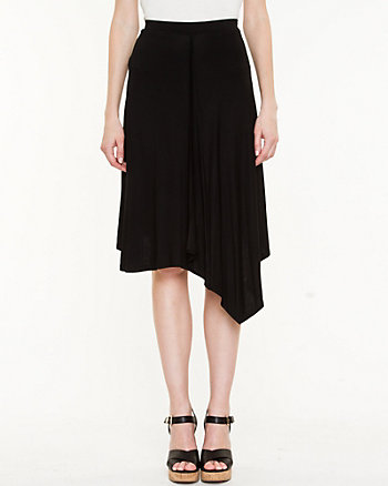 Jersey Asymmetrical Skirt
