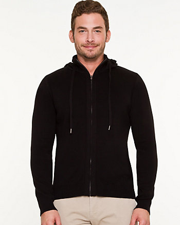 Cotton Zip-up Hoodie