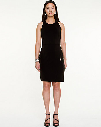 Ponte Fitted Dress