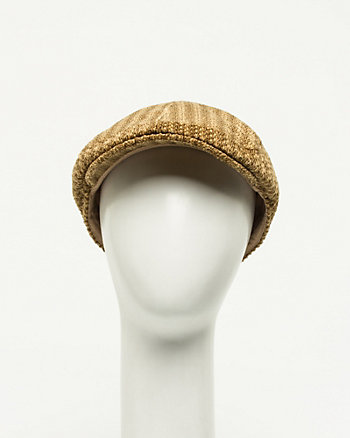Wool Blend Ivy cap