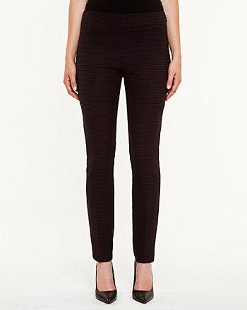 Houndstooth Modern Fit Slim Leg Pant