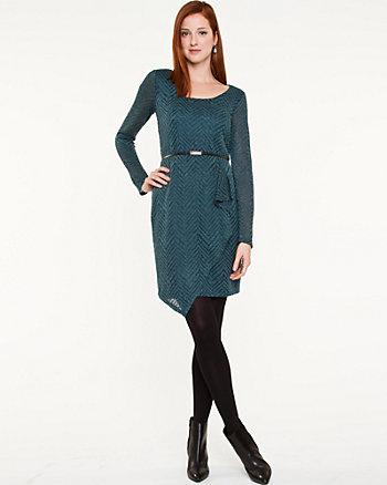 Chevron Asymmetrical Dress