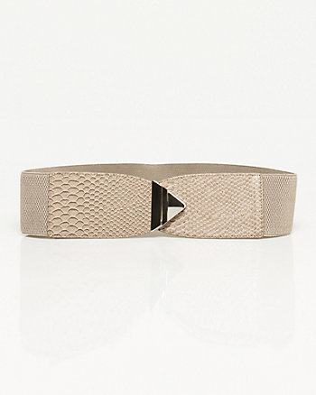 Elastic Metal Buckle Belt