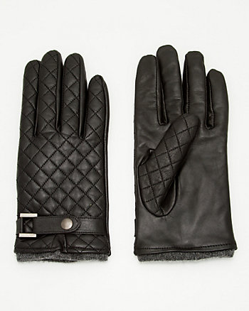 Quilted Leather Glove