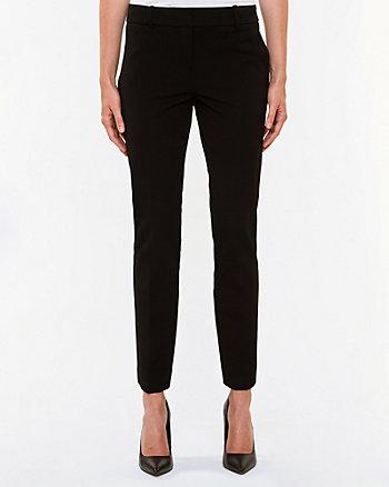 Gabardine Slim Leg Pant