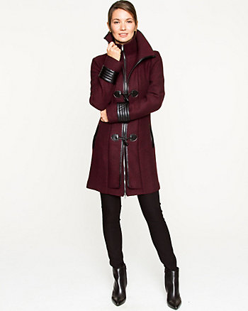 Tweed Toggle Coat