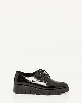Patent Lug Sole Oxford