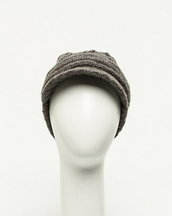 Knit Poor Boy Cap