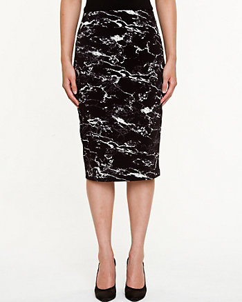 Modern Fit Pencil Skirt