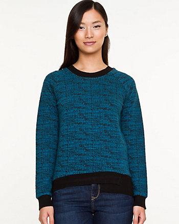 Cut & Sew Sweatshirt