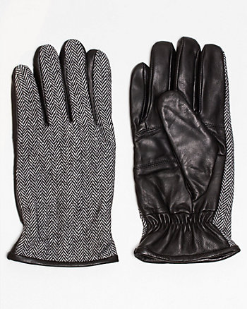 Leather & Fabric Glove