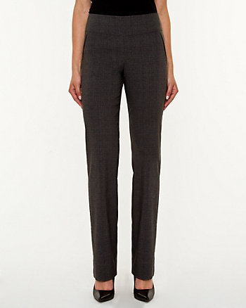 Crosshatch Tech Stretch Flare Leg Pant