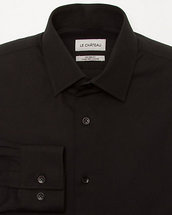 Cotton Piqué Tailored Shirt