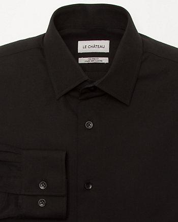 Cotton Piqué Tailored Shirt