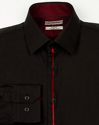 Cotton Pattern Tailored Fit Shirt