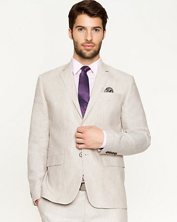 Linen Slim Fit Blazer