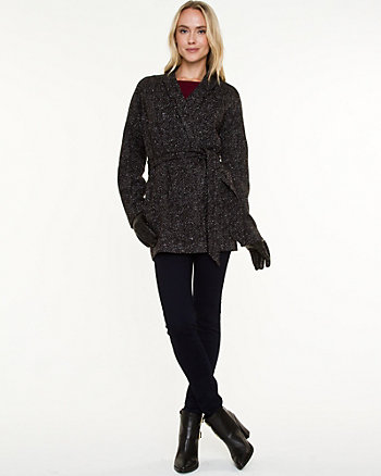 Double Knit Cocoon Coat