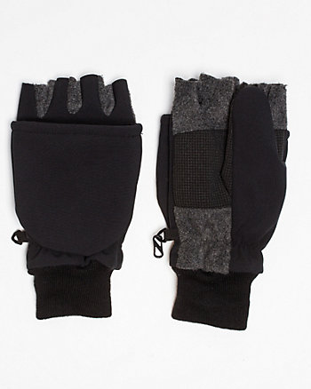 Knit Fingerless Glove